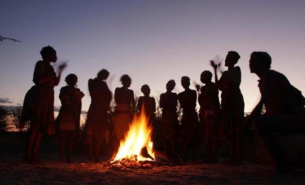 bosquimanos danza