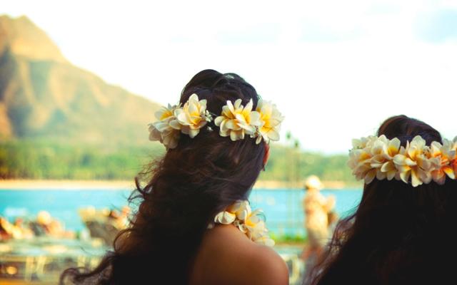 hawaii guirnaldas pelo