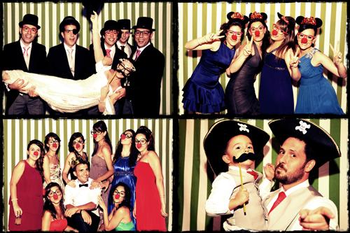photocall en boda