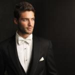 Para el novio, ¿chaqué o traje, pajarita o corbata?